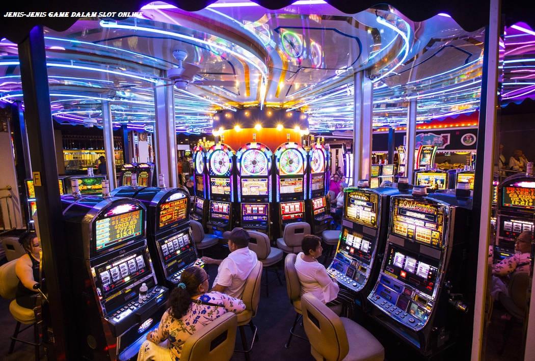 Jenis-jenis Game Dalam Slot Online